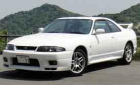 スカイラインGT-R R33のレンタカー